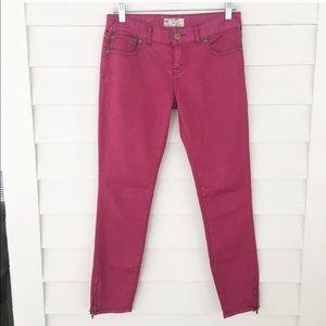 Free People | Ankle Zip Skinny Jeans
